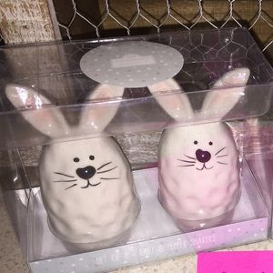 Other - 10 strawberry street bunny shakers